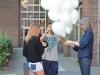 ballons werden verschnürt
