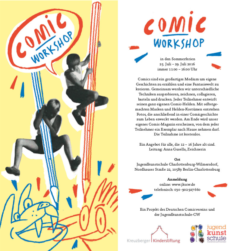 flyer-comic-workshop-cw